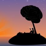 夕暮れの脳